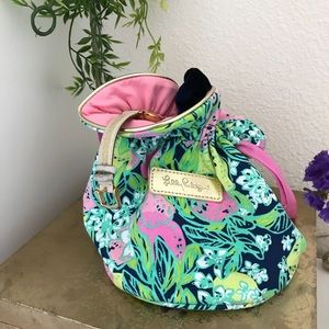 "Lilly Pulitzer ""It's Cinch"" jewelry/makeup pouch"